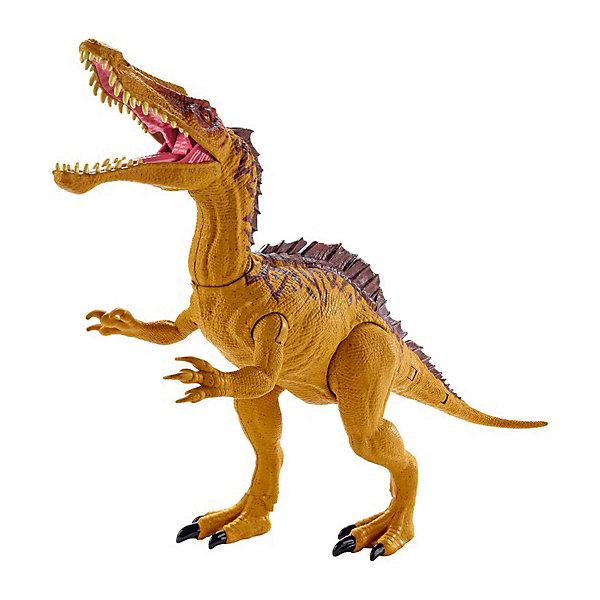 Купить Игровая фигурка Jurassic World Большие динозавры Двойной удар, Зухомима, Mattel, Китай, Женский