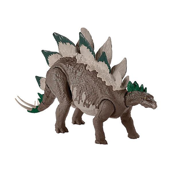 Купить Игровая фигурка Jurassic World Большие динозавры Двойной удар, Стегозавр, Mattel, Китай, Женский