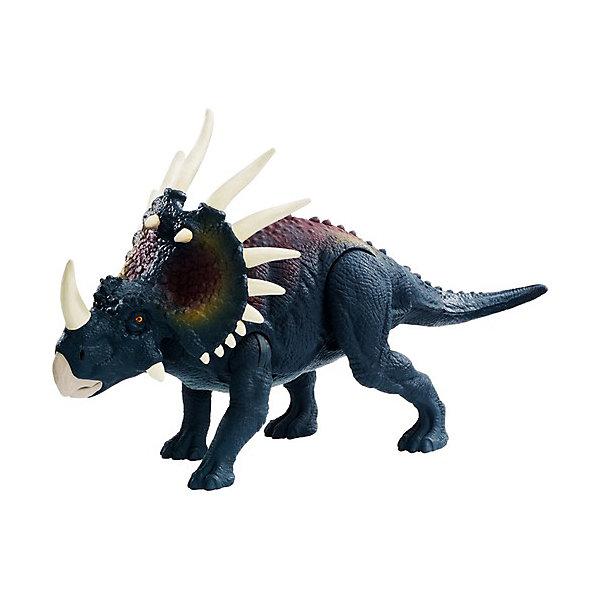 Купить Базовая фигурка динозавра Jurassic World Dino Rivals Стиракозавр, Mattel, Китай, Женский