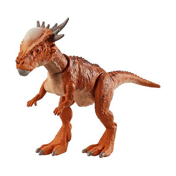 Купить Базовая фигурка динозавра Jurassic World Dino Rivals Стигимолох Стигги, Mattel, Китай, Женский