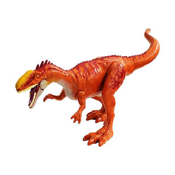 Купить Базовая фигурка динозавра Jurassic World Dino Rivals Монолофозавр, Mattel, Китай, Женский