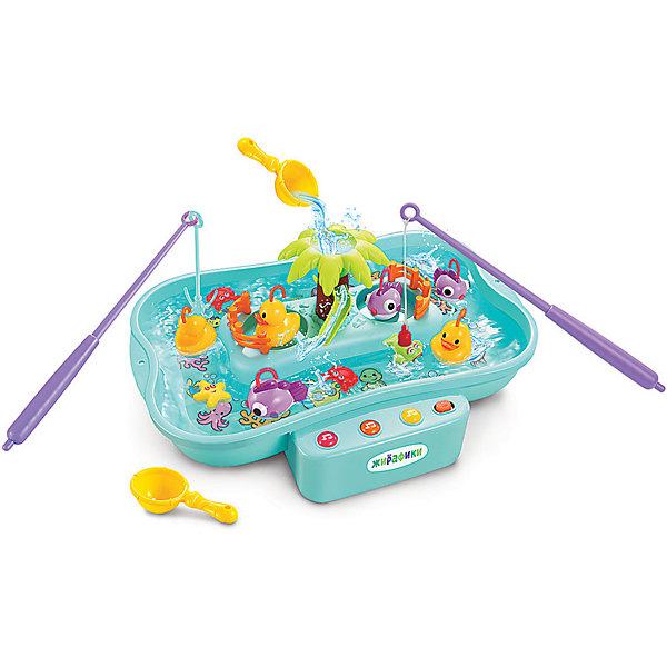 Жирафики Развивающая игрушка Рыбалка