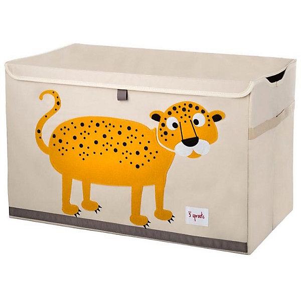 Фото - 3 Sprouts Сундук для хранения игрушек 3 Sprouts Леопард контейнер для игрушек pilsan сундук розовый 06 189