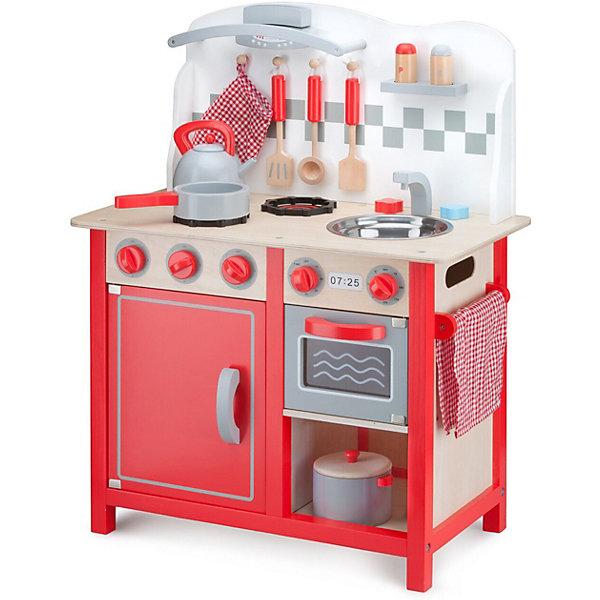Купить Кухня New Classic Toys, 78 см, красная, Китай, красный, Унисекс