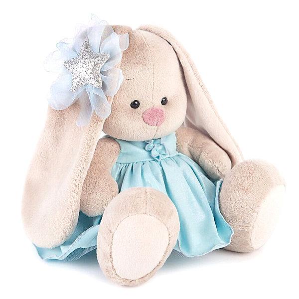 Budi Basa Мягкая игрушка Budi Basa Зайка Ми в голубом платье со звездой, 23 см