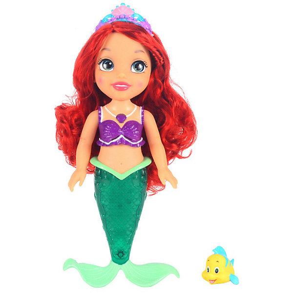 Jakks Pacific Интерактивная кукла Принцесса Disney, Ариэль, 37см