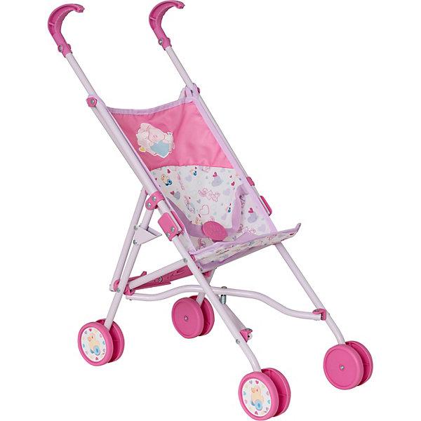 Zapf Creation Коляска-трость для кукол Baby Annabell, розовая куклы и одежда для кукол zapf creation baby annabell памперсы 5 штук