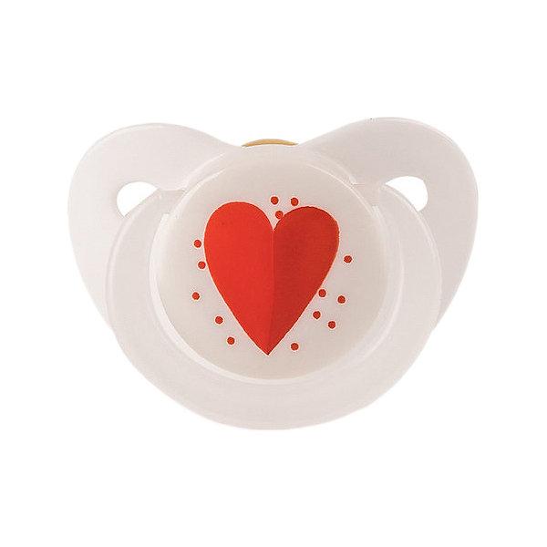 Happy Baby Латексная ортодонтическая пустышка Happy Baby Сердечко с 0 мес. группа 0 0 от 0 до 13кг 0 6 мес happy baby