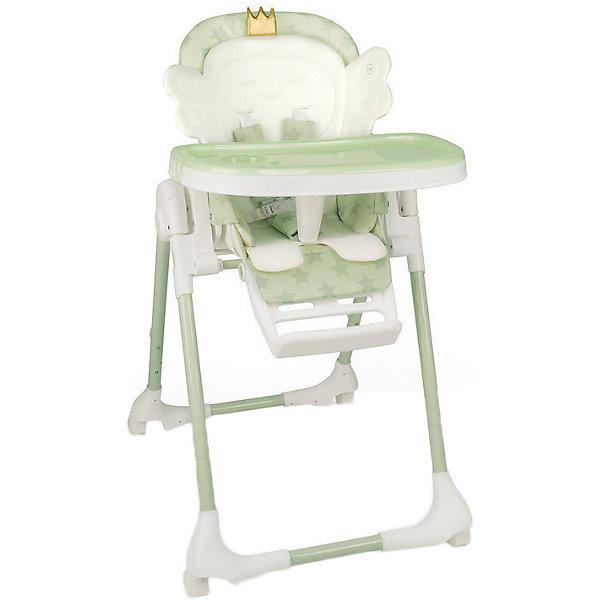 Happy Baby Стульчик для кормления Wingy зелёный