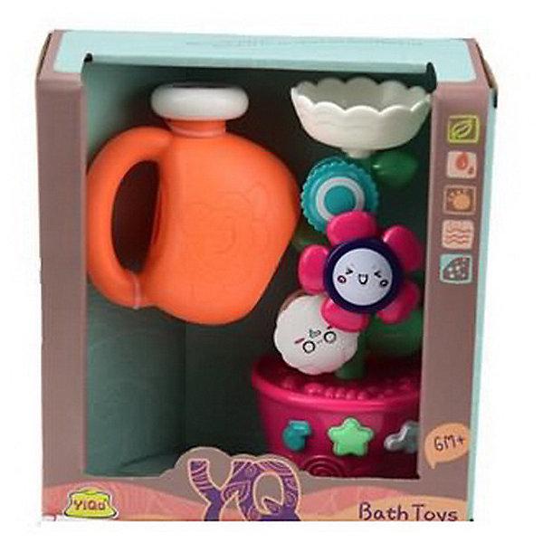 Junfa Toys Игрушка для ванны Мельница, розовая