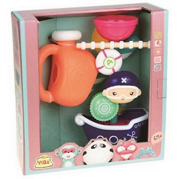 Junfa Toys Игрушка для ванны Мельница, синяя