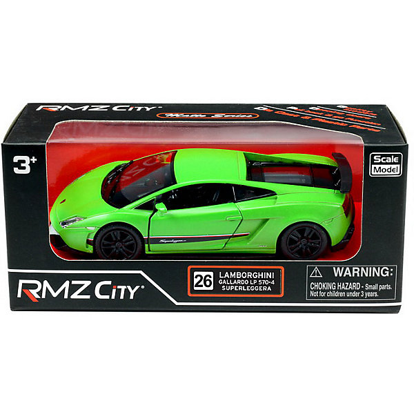 RMZ City Металлическая машинка RMZ City Lamborghini Gallardo LP570-4 Superleggera, 1:36