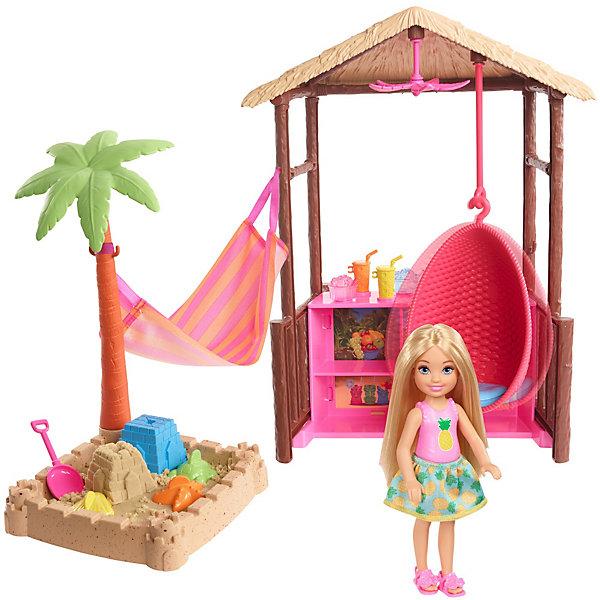 Купить Игровой набор Barbie Путешествия Челси и хижина, Mattel, Китай, Женский