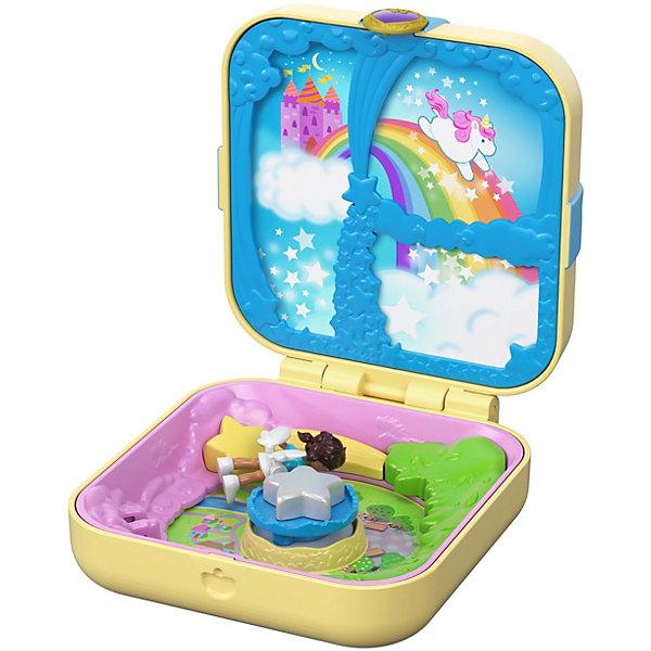 Mattel Игровой набор Polly Pocket Мини-мир Утопия единорогов