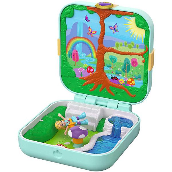 Mattel Игровой набор Polly Pocket Мини-мир Трепещущий лес игровой набор mattel polly pocket мир полли fry35