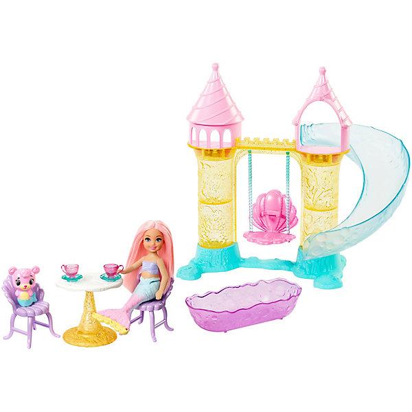 Купить Игровой набор Barbie Dreamtopia Детская площадка с русалочкой Челси, Mattel, Китай, Женский