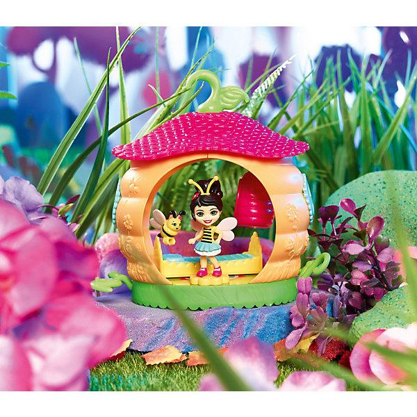 Купить Игровой набор Enchantimals Домик букашек Беатрис Пчёлка и спальня, Mattel, Китай, Женский