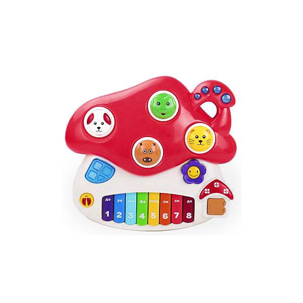 Жирафики Музыкальная игрушка Грибок, свет/звук