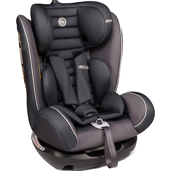Happy Baby Автокресло Happy Baby Spector, 0-36 кг, graphite автокресло happy baby spector graphite