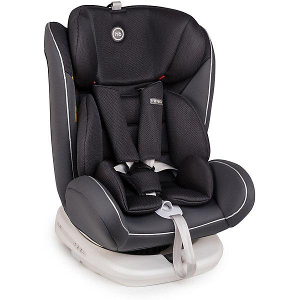 Автокресло Happy Baby Unix, silverГруппа 0-1-2-3 (до 36 кг)<br>Unix - универсальное Автокресло Happy Baby для детей с самого рождения и до 12 лет, которое имеет возможность установки как с помощью трехточечных ремней безопасности автомобиля, так и с помощью системы ISOFIX. Различные варианты установки и поворотная база предлагают широкие возможности для наиболее удобного и безопасного расположения в любом автомобиле.<br><br>Характеристики: <br>Возраст: 0 месяцев - 12 лет<br>Вес: 0-36 кг<br>Группы: 0+/I/II/III<br><br>Габариты: 52х44х65 см<br>Вес автокресла: 9,5 кг<br>Крепление: ISOFIX/трехточечные ремни безопасности<br>Наклон: 4 положения<br>Высота подголовника: 7 положений<br><br>Ширина посадочного места с вкладкой/без вкладки: 31/30 см<br>Глубина посадочного места с вкладкой/без вкладки: 29/28 см<br>Длина спального места с вкладкой/без вкладки: 33/32 см<br><br>• Подходит для всех весовых групп<br>• Крепление с помощью ISOFIX и без<br>• Поворотная база<br>• Боковая защита<br>• Мягкий вкладыш-матрасик с анатомической вкладкой<br>• Съемный чехол