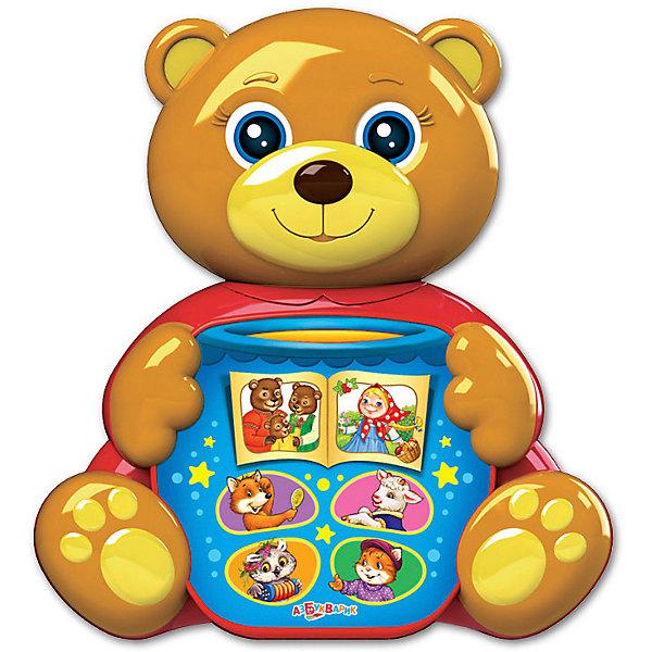 Азбукварик Музыкальная игрушка Любимая сказочка Мишка косолапый