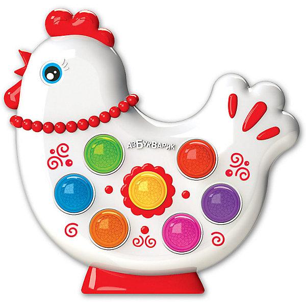 Купить Музыкальная игрушка Азбукварик Веселушки Курочка, Тайвань, разноцветный, Унисекс