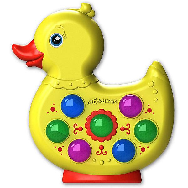 Азбукварик Музыкальная игрушка Веселушки Утёнок