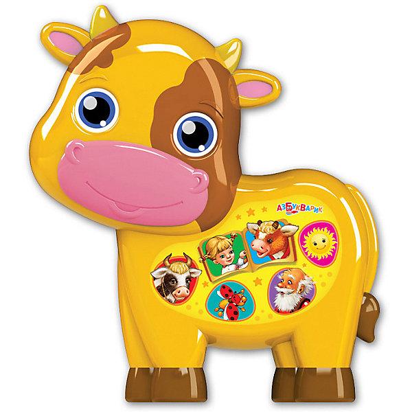 Купить Музыкальная игрушка Азбукварик Любимая сказочка Бычок - смоляной бочок, Тайвань, разноцветный, Унисекс