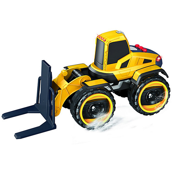 Handers Машинка Handers Большие колёса Погрузчик спецтехника технопарк погрузчик оранжевый u1401g 1