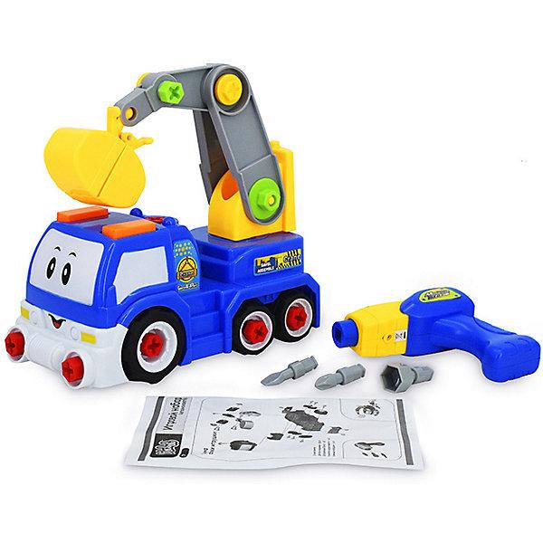 Bebelot Игровой набор-конструктор Bebelot Автоэкскаватор экономичность и энергоемкость городского транспорта