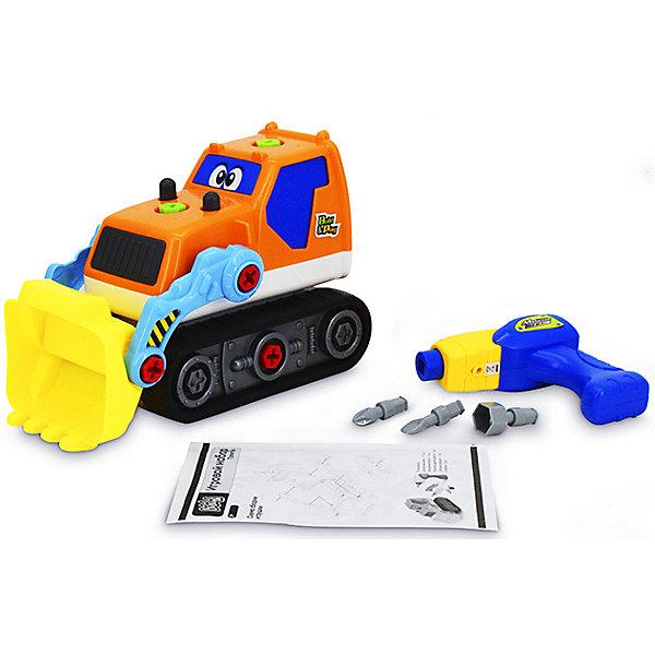 Фото - Bebelot Игровой набор-конструктор Bebelot Трактор пластиковый конструктор набор игровой 36 кубиков