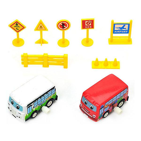 Bebelot Игровой набор с машинками Bebelot Автобусный тур игровой набор bruder набор знаков дорожных работ 62 000