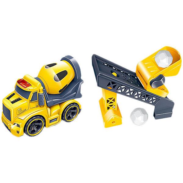 Handers Набор машинок Handers Бетономешалка и транспортёр интерактивные игрушки learning journey паровоз в наборе с шариками звуковые и световые эффекты
