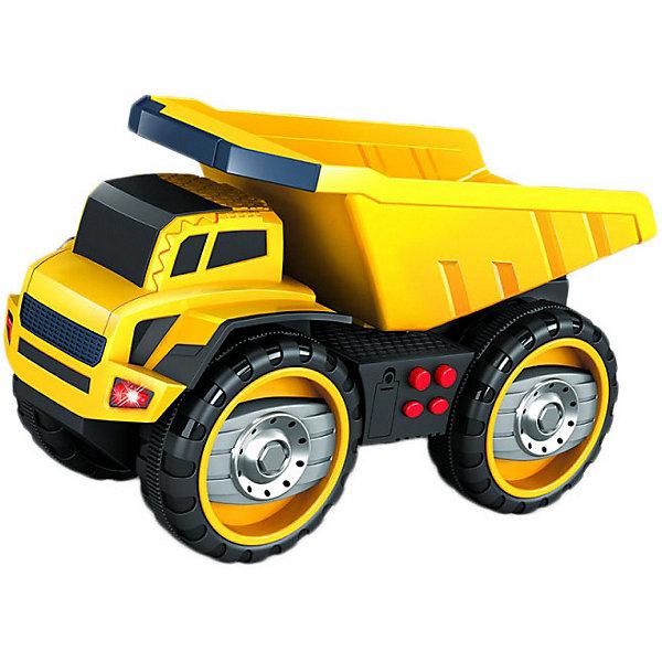 Купить Машинка Handers Большие колёса Самосвал, 33 см, Китай, разноцветный, Мужской