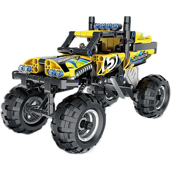 Mioshi Автомобиль-конструктор Mioshi Tech Комби Кросс-трак 5 игрушка mioshi tech waterjet yellow mte1201 034