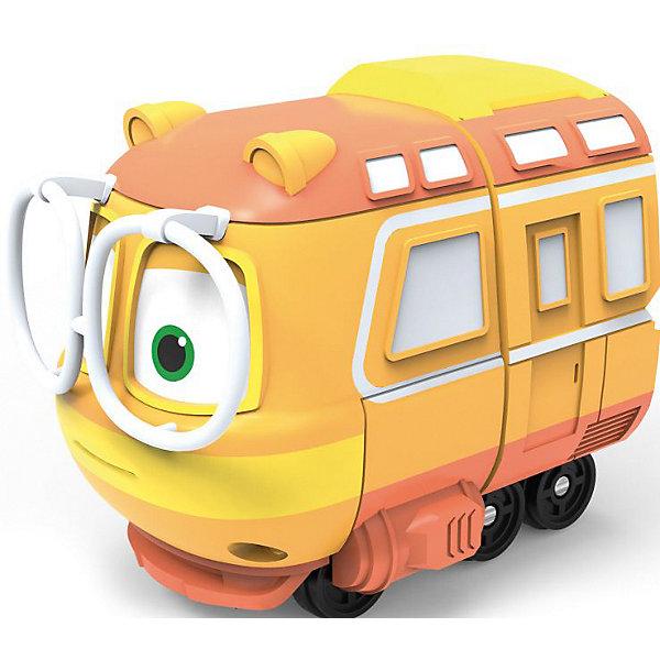 Robot Trains Коллекционный паровозик Silverit Robot Trains Джинни железные дороги robot trains паровозик кей