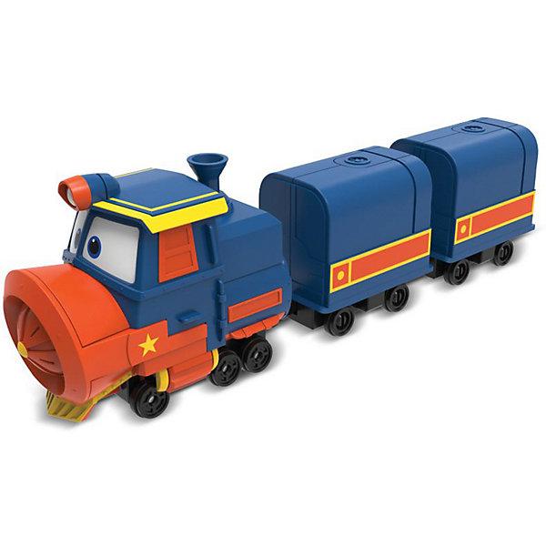 Silverlit Паровозик с двумя вагонами Robot Trains Виктор