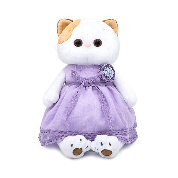 Budi Basa Мягкая игрушка Кошечка Ли-Ли в лавандовом платье, 24 см