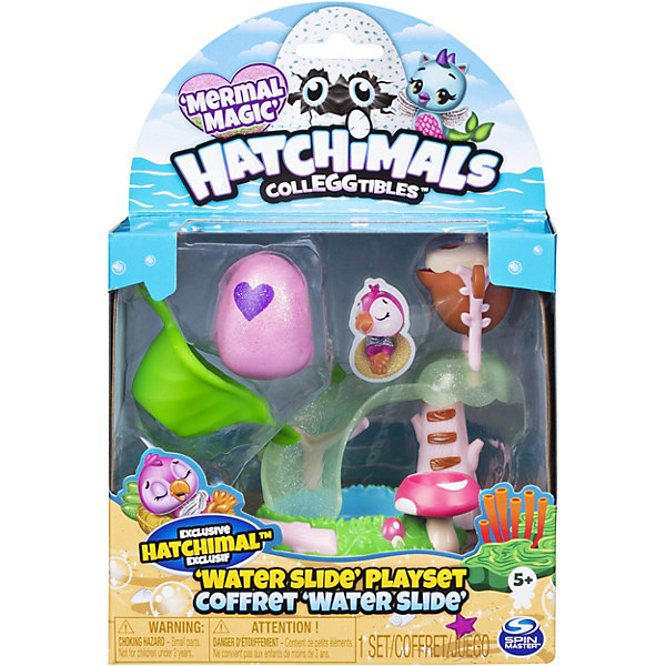 Spin Master Игровой набор Hatchimals Водная мини-горка