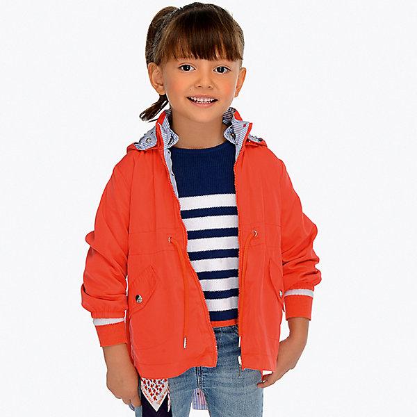Купить Куртка двусторонняя Mayoral для девочки, Китай, красный, 128, 134, 110, 92, 98, 116, 122, 104, Женский