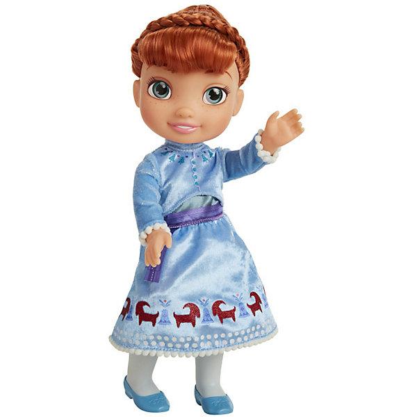 Купить Кукла Jakks Pacific Олаф и холодное приключение Анна, 38 см, Китай, голубой, Женский