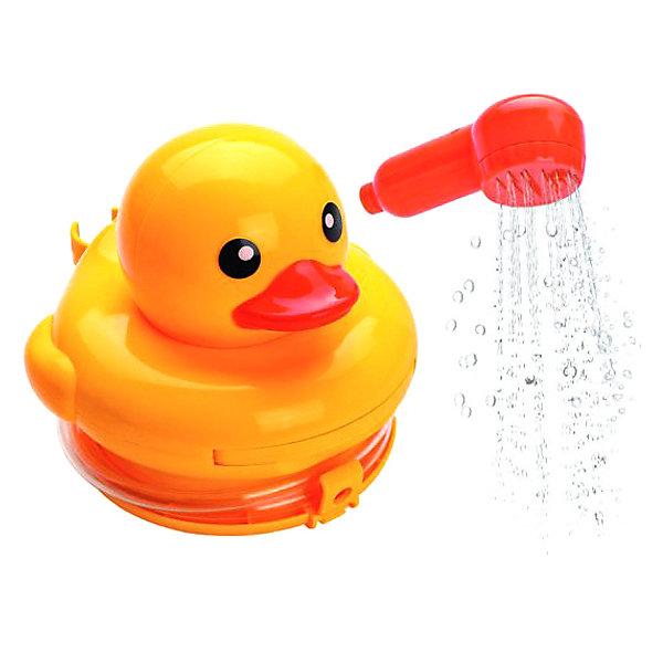 Жирафики Развивающая игрушка-душ Утенок для купания