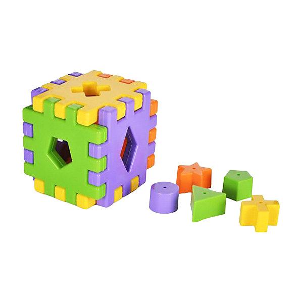 Жирафики Сортер Кубики, 12 деталей