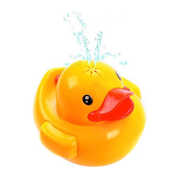 Купить Игрушка-фонтан Жирафики Утенок для купания, свет/звук, Китай, желтый, Унисекс