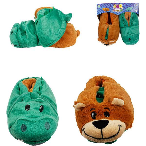 1Toy Вывертапки Крокодил-Медведь, 31-33 см