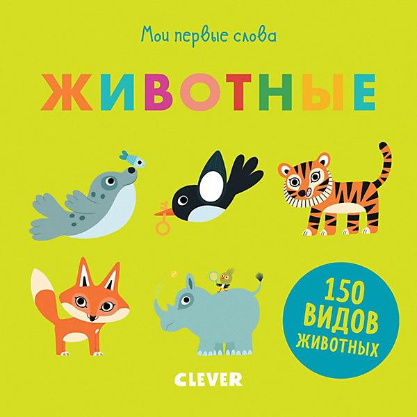 Clever Мои первые слова Животные, Первые книжки малыша мои первые слова