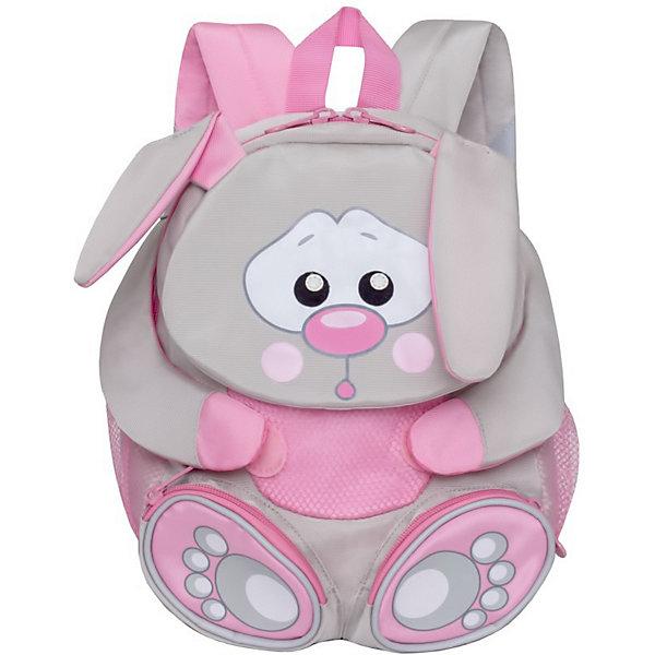 Купить Рюкзак детский Grizzly, Заяц, Китай, разноцветный, Женский