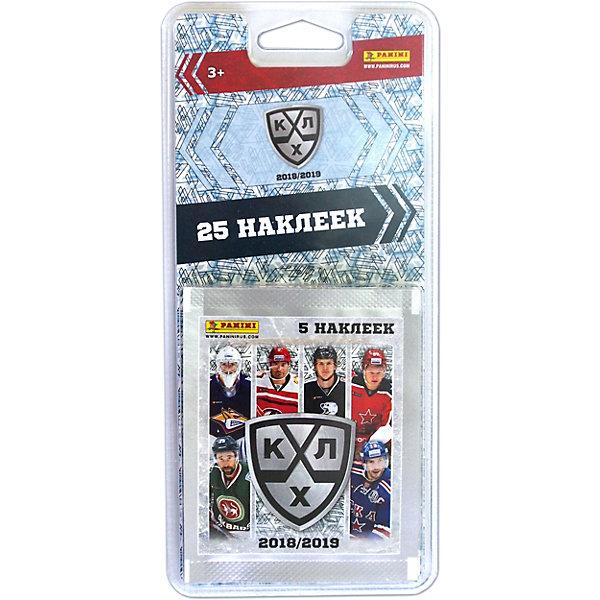 Panini Блистер КХЛ, 11 сезон 2018/19™, 5 пакетиков наклеек