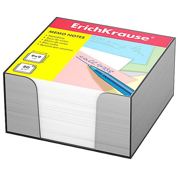 Бумага настольная Erich Krause, белая, в пластиковом контейнере