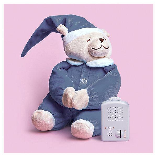 Babiage Игрушка для сна Doodoo с ночником Мишка Симон, джинсовая
